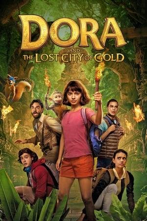 Dóra és az elveszett Aranyváros poszter