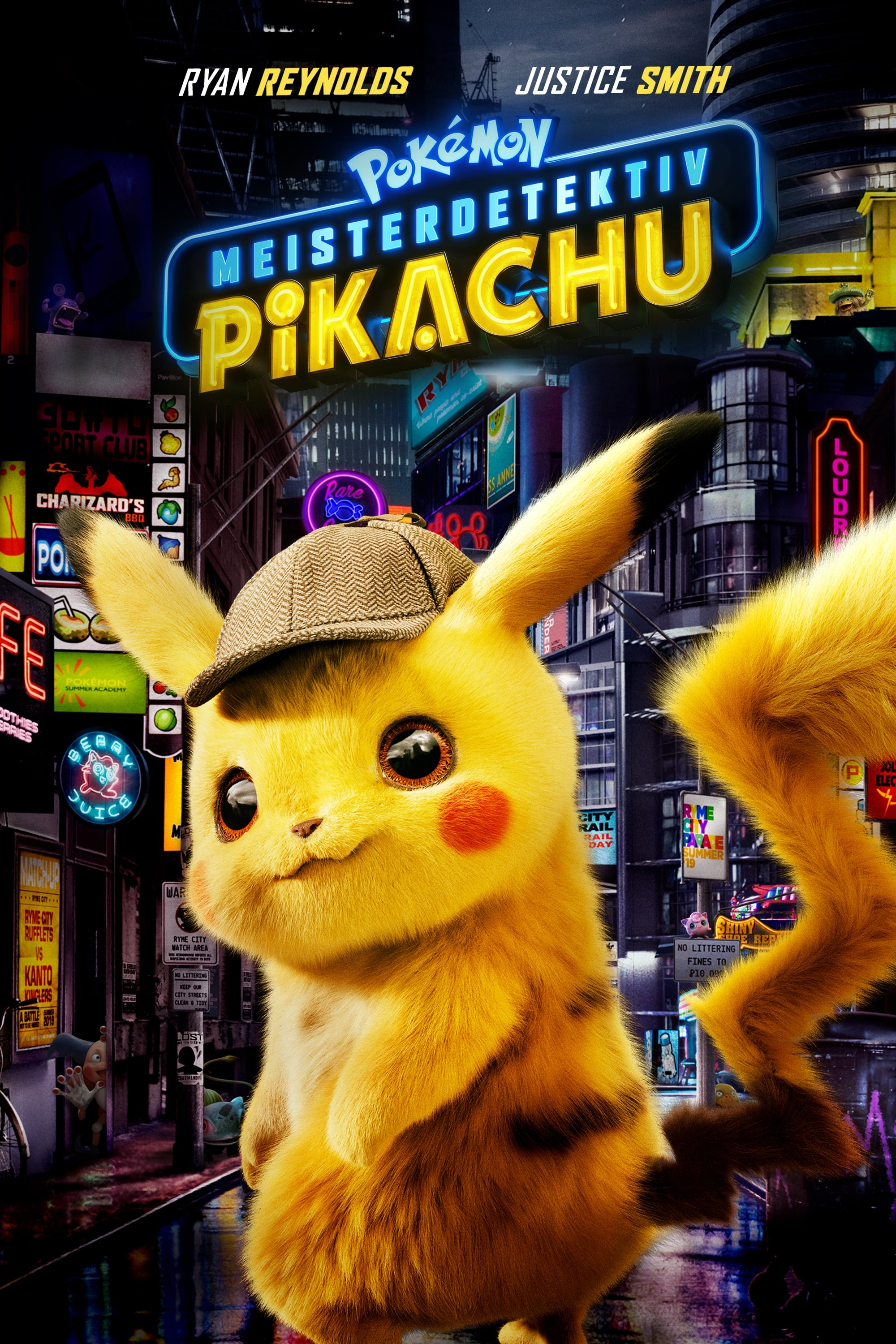 Image result for detective pikachu