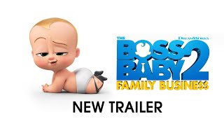 The Boss Baby 2: Family Business – Official Trailer 2 (Universal Pictures) HD - előzetes eredeti nyelven