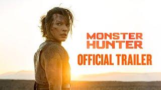 MONSTER HUNTER - Official Trailer (HD) - előzetes eredeti nyelven