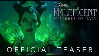 Official Teaser: Disney's Maleficent: Mistress of Evil - In Theaters October 18! - előzetes eredeti nyelven