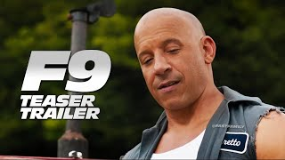 "Fast & Furious 9 - Teaser Trailer | ""Things Change"" (2021) - előzetes eredeti nyelven"