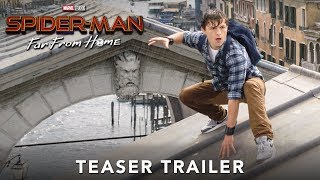 SPIDER-MAN: FAR FROM HOME - Official Teaser Trailer - előzetes eredeti nyelven