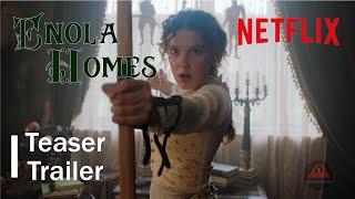 Enola Holmes official  Trailer 2020  / Millie Bobby Brown /  Netflix - előzetes eredeti nyelven