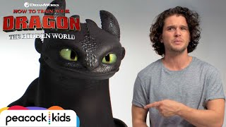 HOW TO TRAIN YOUR DRAGON: THE HIDDEN WORLD | Kit Harington Auditions with Toothless - előzetes eredeti nyelven
