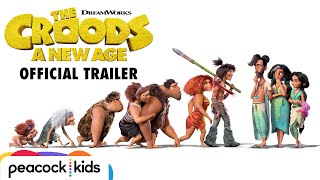 THE CROODS: A NEW AGE | Official Trailer - előzetes eredeti nyelven