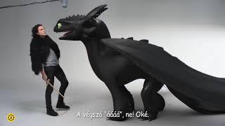 Így neveld a sárkányodat 3. - Fogatlan és Kit Harington (Meghallgatás)