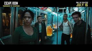 """ESCAPE ROOM: TOURNAMENT OF CHAMPIONS: """"Subway Escape"""" - előzetes eredeti nyelven"""