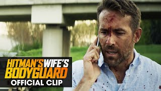 """The Hitman's Wife's Bodyguard (2021 Movie) Official Clip """"Who Were You Talking To"""" - Ryan Reynolds - előzetes eredeti nyelven"""