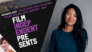 Chloé Zhao Q&A - NOMADLAND |  Producers Mollye Asher, Peter Spears & Dan Janvery | Film Independent - előzetes eredeti nyelven