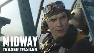 Midway (2019 Movie) Teaser Trailer — Ed Skrein, Patrick Wilson, Nick Jonas - előzetes eredeti nyelven