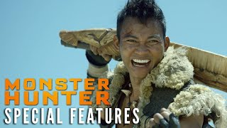 MONSTER HUNTER Special Features Clip – Tony's Weapons | Now on Digital! - előzetes eredeti nyelven