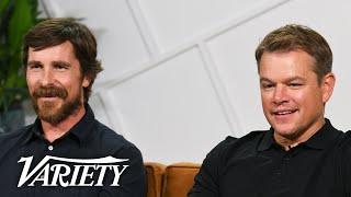 'Ford v Ferrari' Stars Christian Bale & Matt Damon on Shooting Intense Racing Scenes - előzetes eredeti nyelven