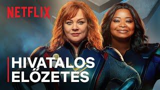 A lecsap csapat | Melissa McCarthy és Octavia Spencer | Hivatalos előzetes | Netflix kép