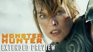 MONSTER HUNTER - Extended Preview | On Digital 2/16 - előzetes eredeti nyelven
