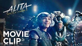 "Alita: Battle Angel   ""Motorball"" Clip   20th Century FOX - előzetes eredeti nyelven"