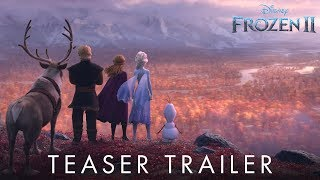 Frozen 2 | Official Teaser Trailer - előzetes eredeti nyelven