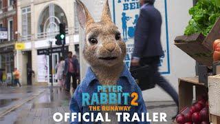 PETER RABBIT 2: THE RUNAWAY - Official Trailer (HD) - előzetes eredeti nyelven