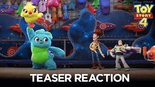Toy Story 4 | Teaser Trailer Reaction - előzetes eredeti nyelven