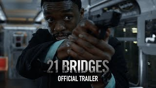 21 Bridges | Official Trailer | Coming Soon to Theaters - előzetes eredeti nyelven