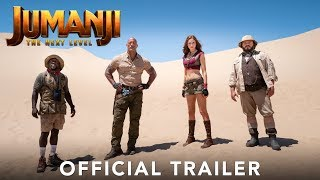 JUMANJI: THE NEXT LEVEL - Official Trailer (HD) - előzetes eredeti nyelven