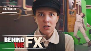 The VFX Behind The Enola Holmes Train Sequence | Behind The FX | Netflix - előzetes eredeti nyelven