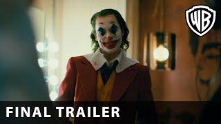 JOKER – Final Trailer – Warner Bros. - előzetes eredeti nyelven